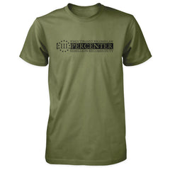 Three Percenter Shirt - When Tyranny Becomes Law v2.0 - Military