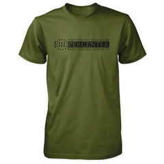 Three Percenter Shirt - When Tyranny Becomes Law v2.0 - Olive Black