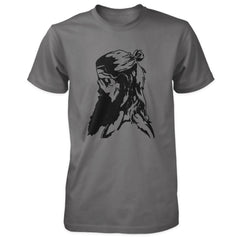 Praetorian Ventures Shirt - Viking Zombie - Charcoal