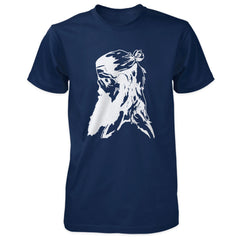 Praetorian Ventures Shirt - Viking Zombie - Navy