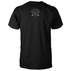 Three Percenter Shirt - III & Join or Die Snake - Back Black