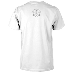 Three Percenter Shirt - III & Join or Die Snake - Back White