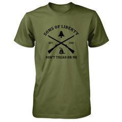 Sons of Liberty Shirt - Don't Tread On Me - Military