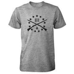 The Three Percenter Logo Shirt - Sports Grey