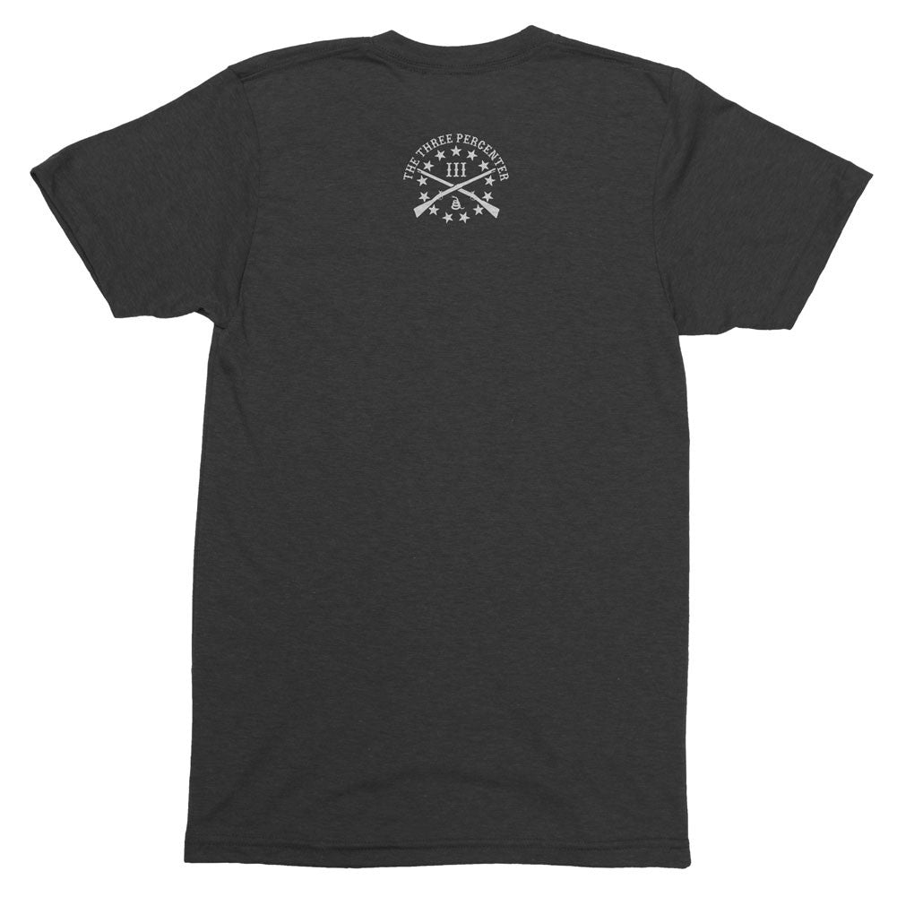 Great Seal of the III Percent Triblend Shirt - Back Print