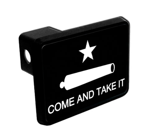 Trailer Hitch Cover - Texas Revolution Come & Take It Flag