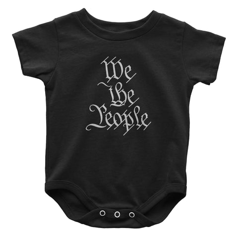 We The People Infant Onesie - Black
