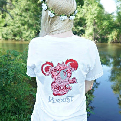 Scarlet Flower Child Tee