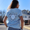 Ocean Waves Sea Turtle Tee