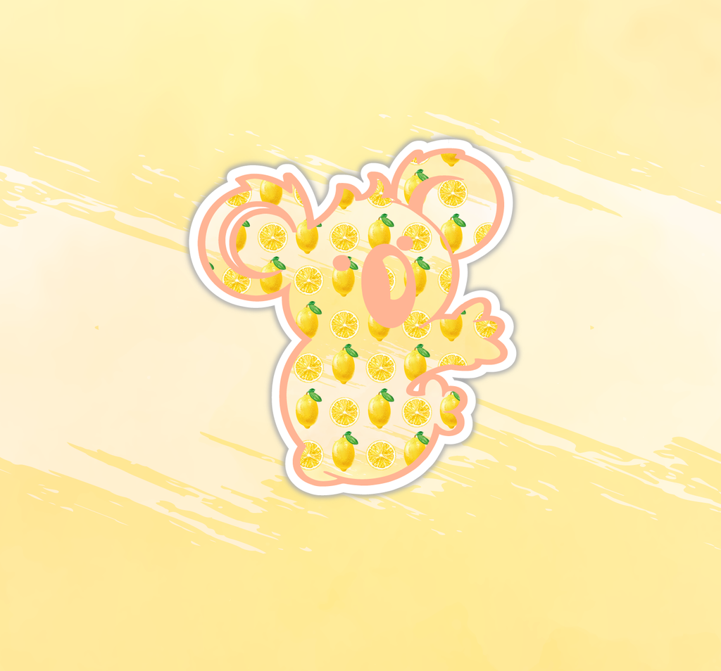 Lemonade Koala Sticker