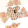 Where's the Pizza Koala Sticker