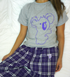 Purple Pajama Tee