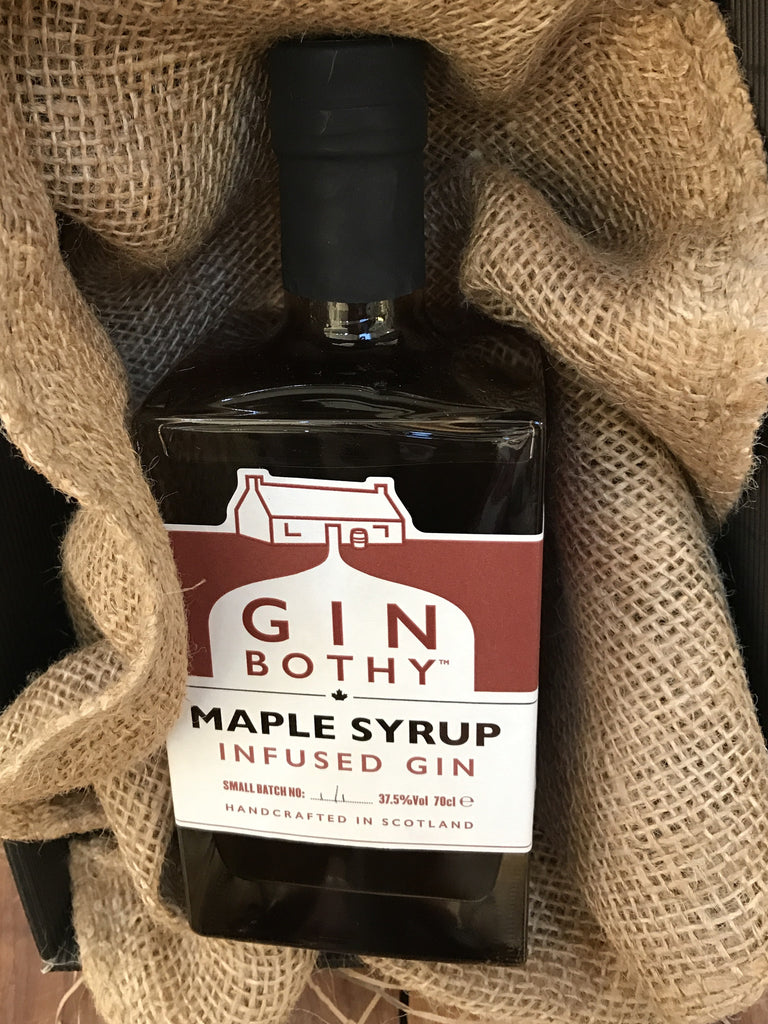 Maple infused gin - When Kim met the Maple Syrup Man!