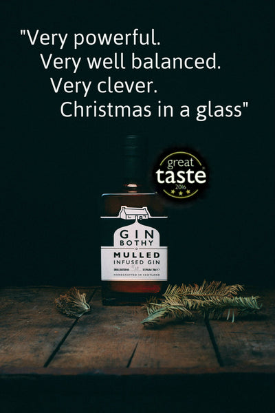 The Gin Bothy's Mulled Gin Awarded Highest Accolade by Great Taste Awards
