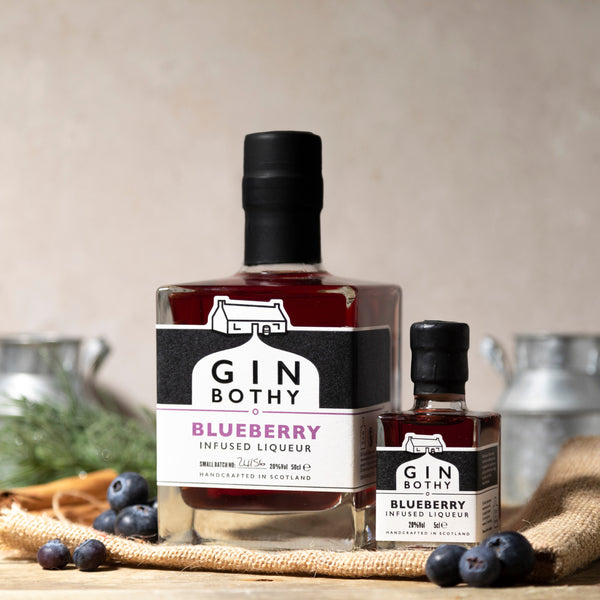 Gin Bothy - Blueberry Gin Liqueur