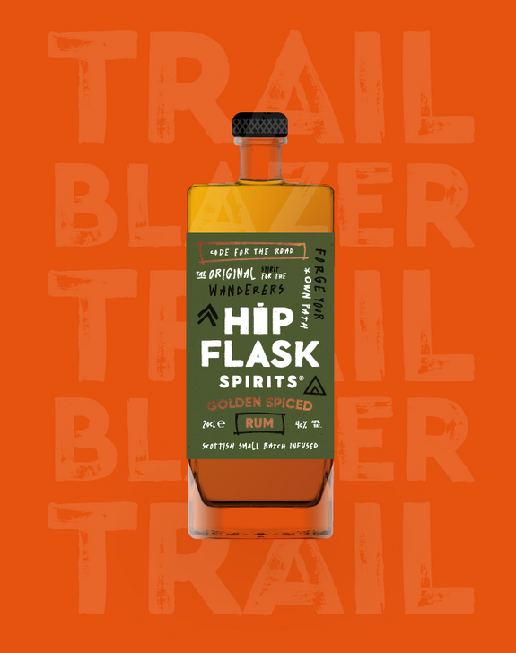 Hipflask Spirits Golden Spiced Rum