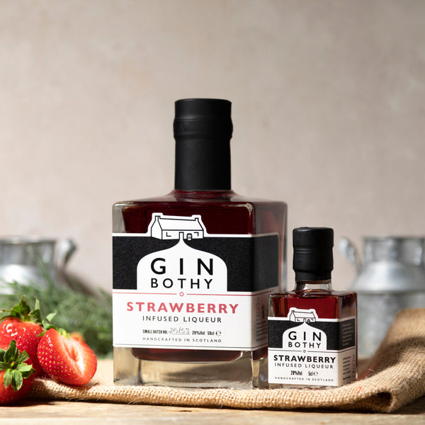 Gin Bothy Strawberry Fruit Gin Liqueur