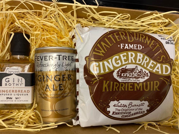 Gin Bothy At Home Box - Gingerbread