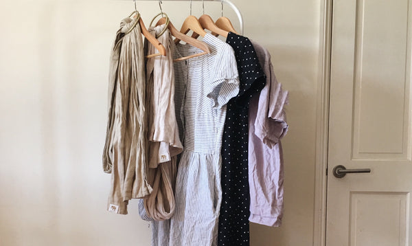 A minimalist's guide to dressing post baby