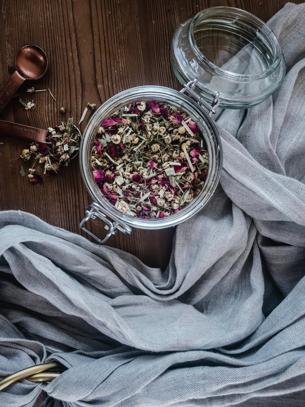 Daily Rituals - Postpartum Herb Tea Recipes (Guest Post by Becky O Cole)