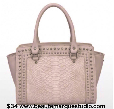 Purses* Camel Faux Alligator