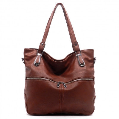 Purse Brown Fashion Tote Handbag