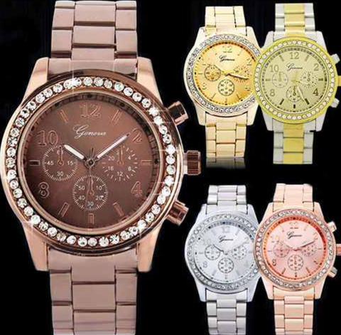 Geneva Bling Watch