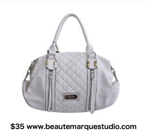 Purse* White Designer Purse