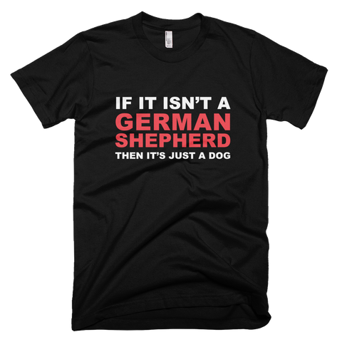 German Shepherd Real Dog Black