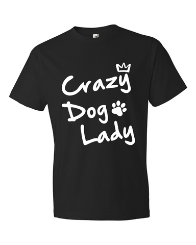 Crazy Dog Lady - Black