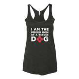 I am the proud mom of a rescue dog tank top