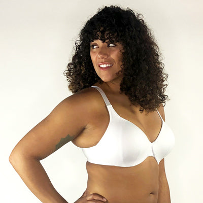 Marjory: The T-Shirt Bra in White