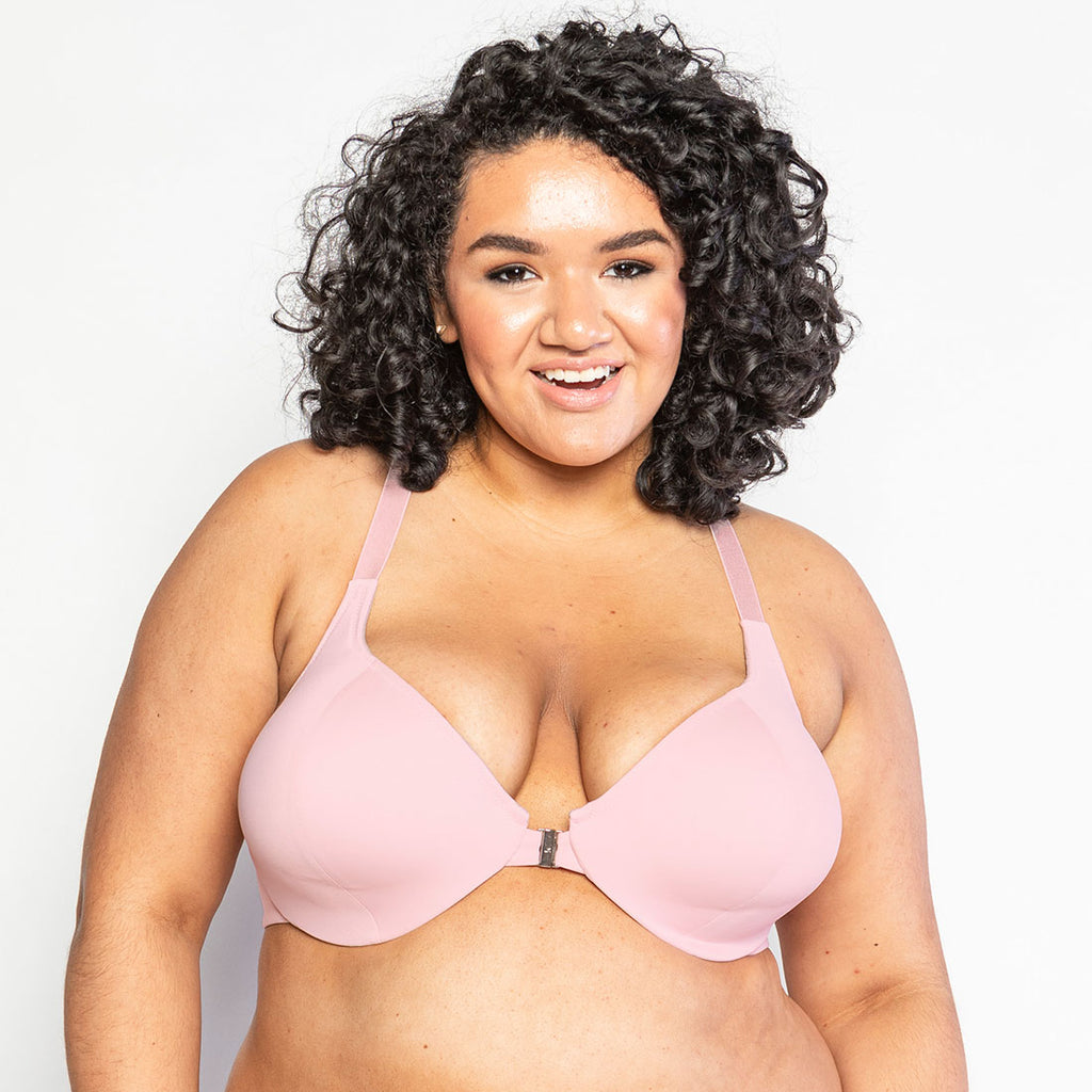 Evie: The Front Closure in Blush