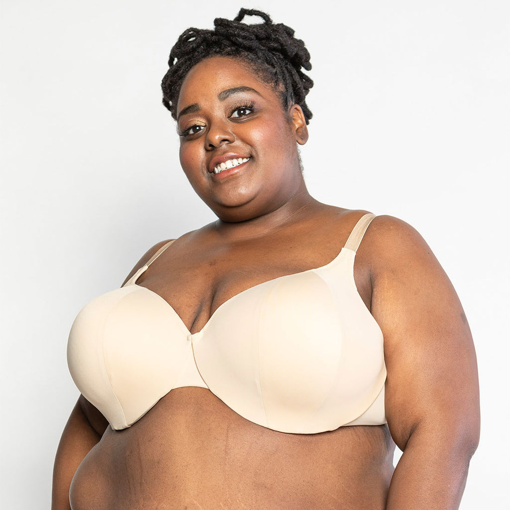 Marjory: The T-Shirt Bra in Cream