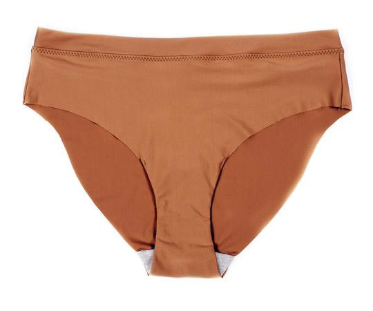 Seamless Brief in Copper