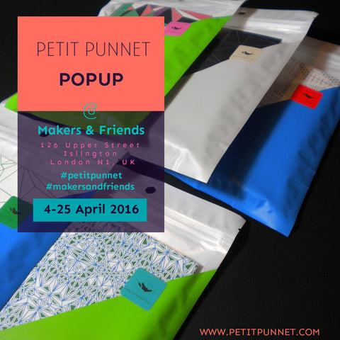 Petit Punnet POPUP 4-25 April 126 Upper St, London