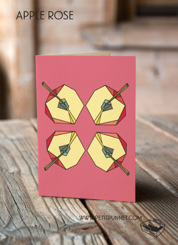 Apple Rose Card