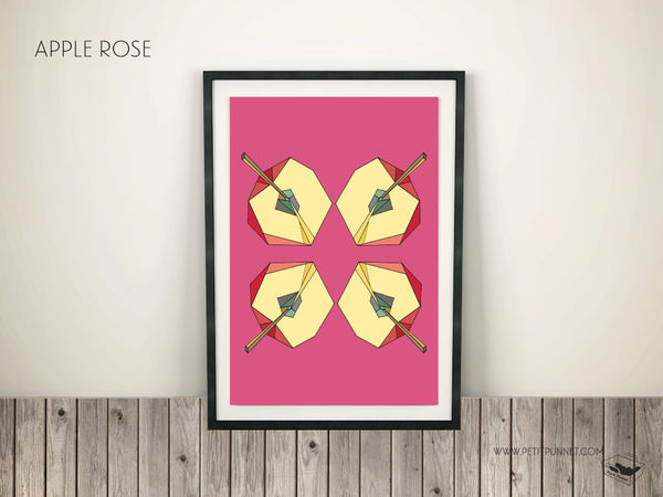 Petit Punnet 'Apple Rose' Poster