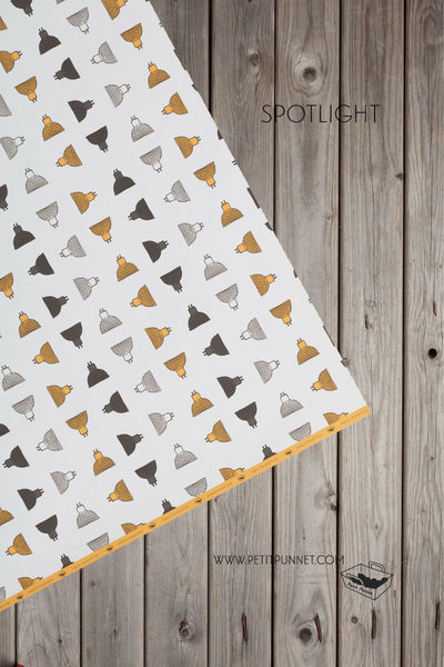 Graphic Series Wrapping Paper 'Spotlight' - Pack of 2