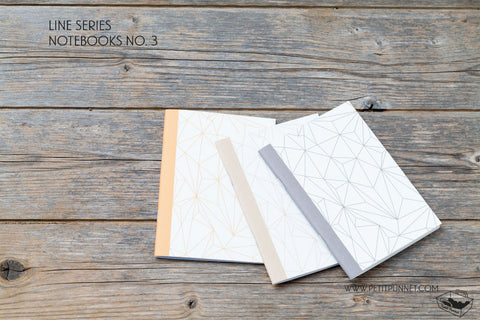 Line Series Notebooks No.3