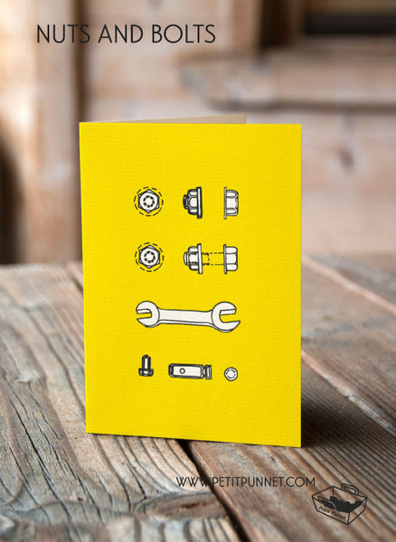 Nuts and Bolts Card