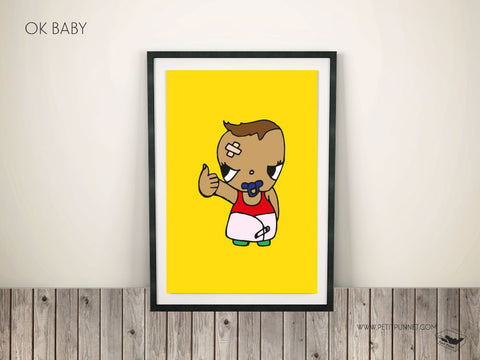 Ok Baby Poster