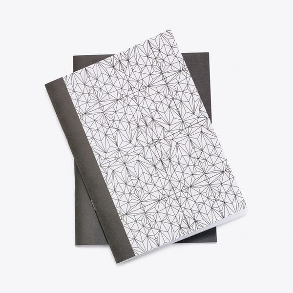 Polyhedron A5 Notebook, Set of 2