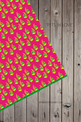 Pets in Love Wrapping Paper - Pack of 2