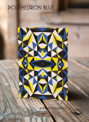 Polyhedron Blue Card
