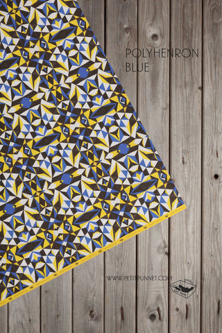 Polyhedron Blue Wrapping Paper - Pack of 2
