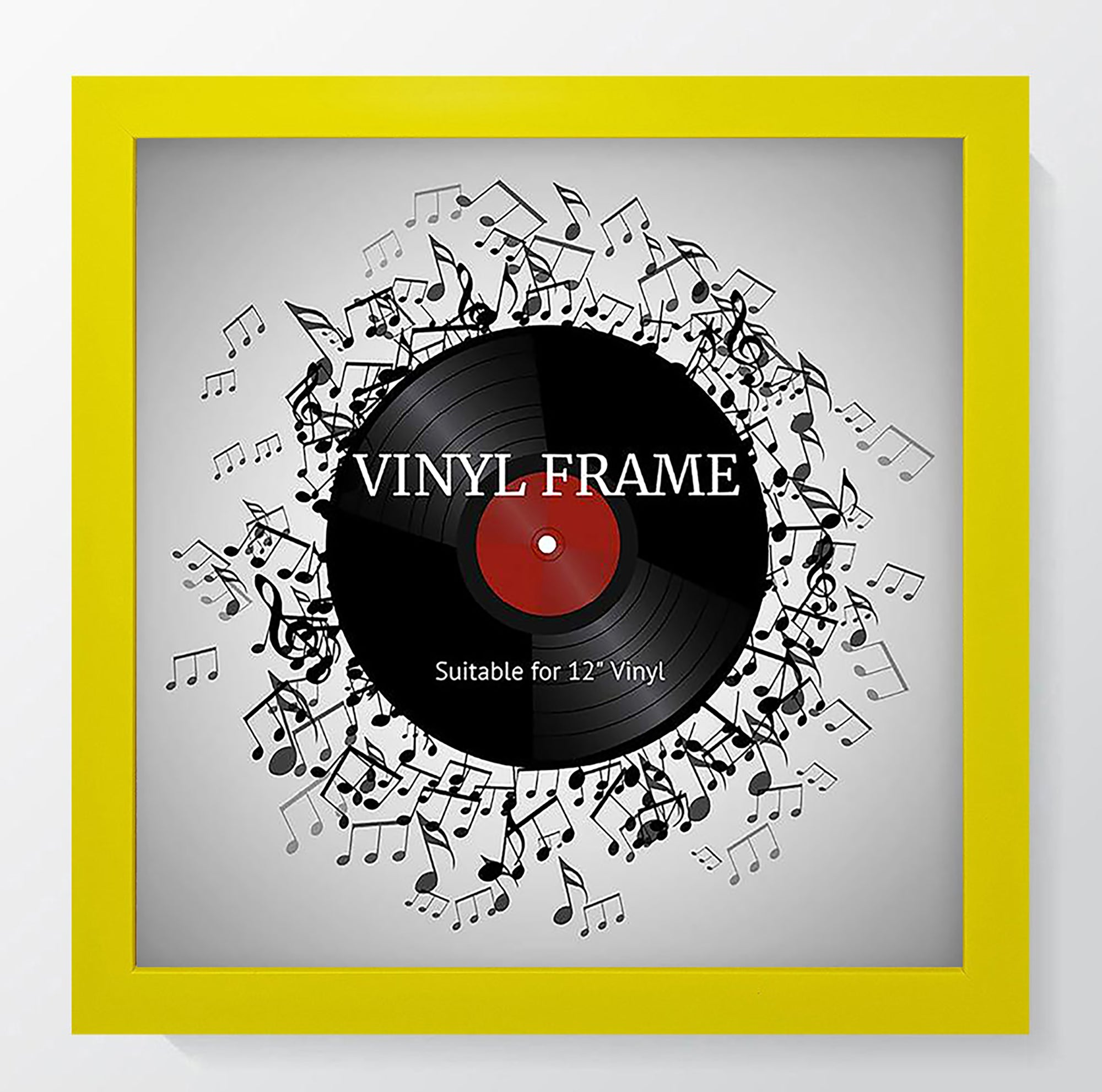 "Oxford Yellow Photo Frame Suitable for a 12"" Vinyl Album"
