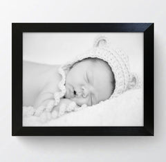 "Milano Black Photo Frame 12x10"" For 9x7"" With Soft Cream Mount - photoframesandart"