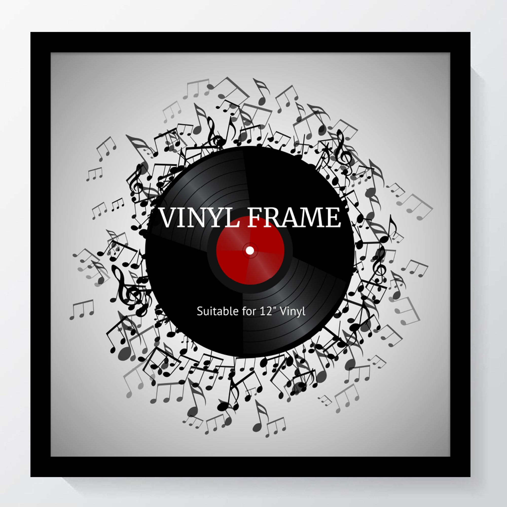 "Oxford Black Photo Frame Suitable for a 12"" Vinyl Album - photoframesandart"
