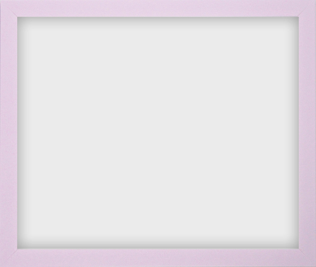 "Olympia Glossy Lilac Photo Frame 12x15"" No Mount - photoframesandart"